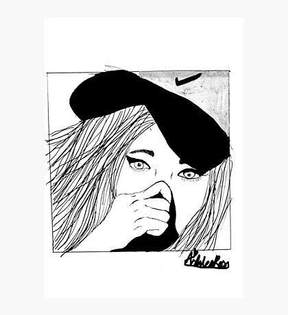 Nike Girl Photographic Print