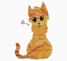 Paper Kitty Baby Tee