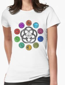 Epcot 82 Womens Fitted T-Shirt