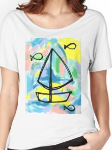 Let's Sail and See the World! Women's Relaxed Fit T-Shirt