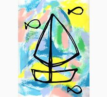 Let's Sail and See the World! Unisex T-Shirt