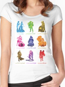 Everyone's a Princess  Women's Fitted Scoop T-Shirt