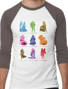 Everyone's a Princess  Men's Baseball ¾ T-Shirt