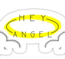 hey angel -one direction Sticker