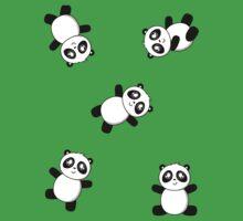 Pandas! Pandas! One Piece - Short Sleeve