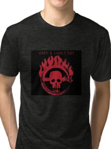 Mad Max- What a Lovely Day Logo Tri-blend T-Shirt