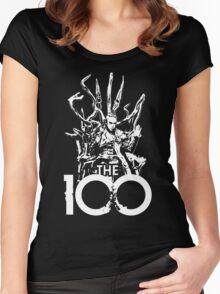 The 100 Heda Chair Women's Fitted Scoop T-Shirt