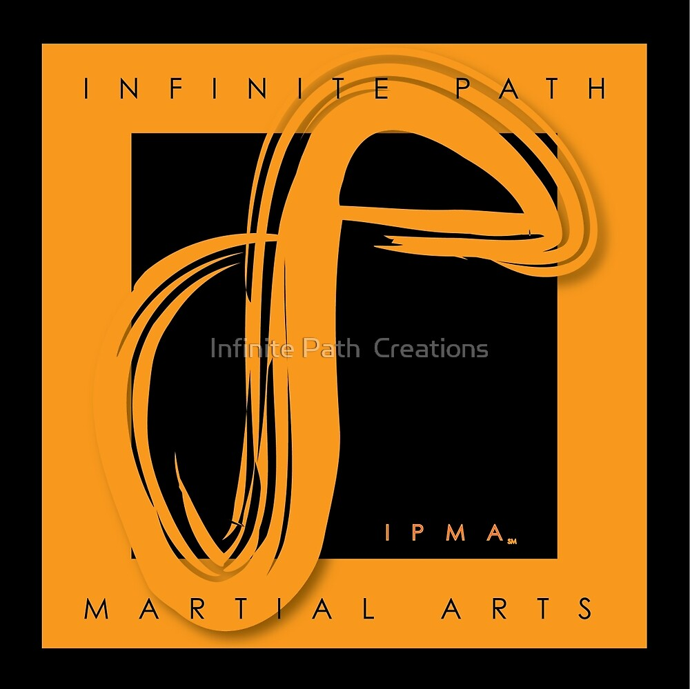 Infinite Path Martial Arts Logo - Orange by Infinite Path  Creations
