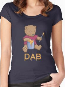Oil Bear Women's Fitted Scoop T-Shirt