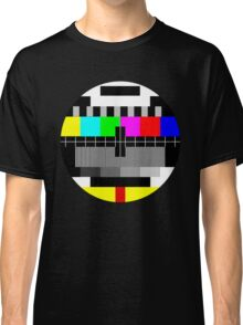 90's TV Test pattern Classic T-Shirt