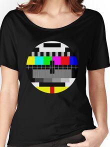 90's TV Test pattern Women's Relaxed Fit T-Shirt