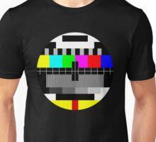 90's TV Test pattern Unisex T-Shirt