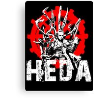 The 100 Lexa Symbol - Heda Canvas Print