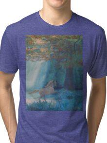 Forest Pony Tri-blend T-Shirt