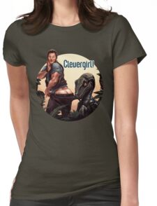 Clever Girl! Womens Fitted T-Shirt