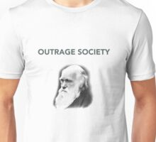 Outrage Society Charles Darwin Unisex T-Shirt