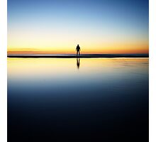 Twilight solitude on Moreton Island Photographic Print