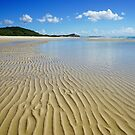 Ripples of perfection on Moreton Island by Keiran Lusk
