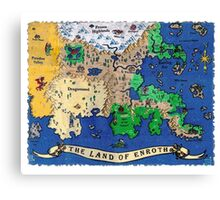 The Land of Enroth Canvas Print
