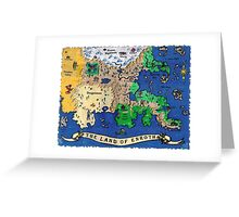 The Land of Enroth Greeting Card