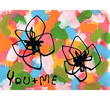You + Me Photographic Print