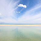 Cloud watching on Moreton Island by Keiran Lusk