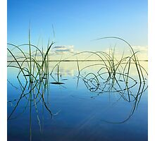 Early morning tranquility on Moreton Island Photographic Print