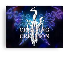 Pokemon-Creating Creation  Canvas Print