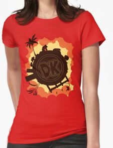 DK: Sunset Shore Womens Fitted T-Shirt
