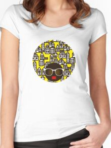 My town Women's Fitted Scoop T-Shirt