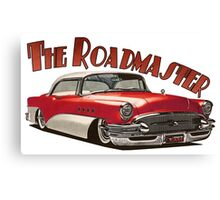 1955 Buick Roadmaster - Red 2 Canvas Print