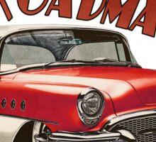 1955 Buick Roadmaster - Red 2 Sticker