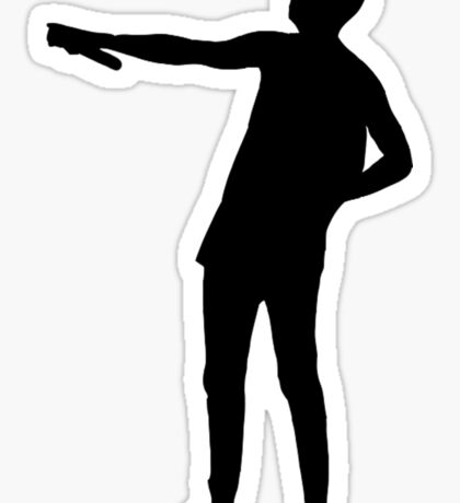 Tyler Joseph Silhouette  Sticker