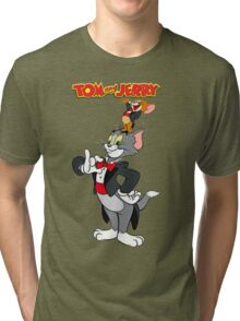 Tom and Jerry New Tri-blend T-Shirt