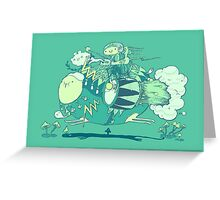 Walk with a friend Greeting Card