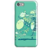 Walk with a friend iPhone Case/Skin