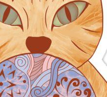 Dreamy Cat Sticker