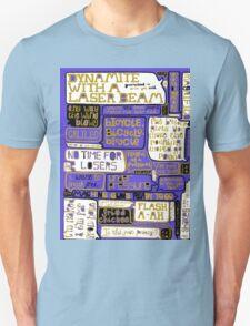 Queen Lyrics Typography Unisex T-Shirt