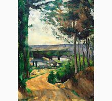 1880 - Paul Cezanne - Road leading to the lake Unisex T-Shirt