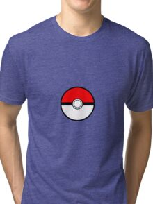 Pokemon - Pokeball Tri-blend T-Shirt