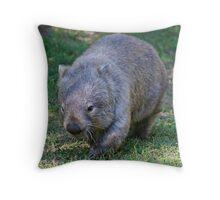 Common Wombat Throw Pillow