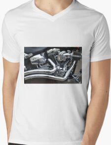 Engine Mens V-Neck T-Shirt