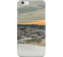 River in winter iPhone Case/Skin