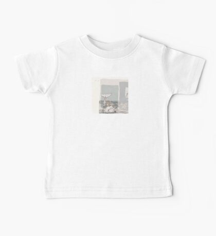 The Monkey and the Dolphin  An Aesop's Wetnose Fable Baby Tee