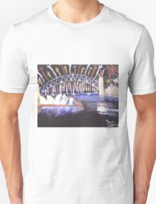New Years Eve on Sydney Harbour Unisex T-Shirt