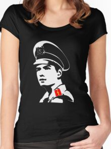 Vietnamese Police Officer Women's Fitted Scoop T-Shirt
