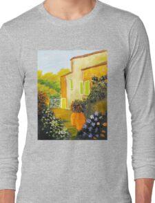 Tuscany Courtyard Long Sleeve T-Shirt