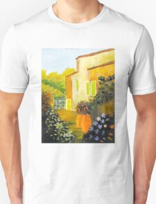 Tuscany Courtyard Unisex T-Shirt