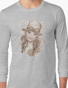 Steampunk Girl Long Sleeve T-Shirt