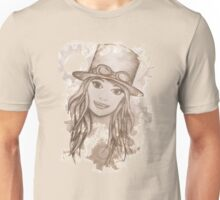 Steampunk Girl Unisex T-Shirt
